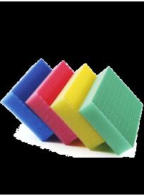 kit éponge couleur bi-face
